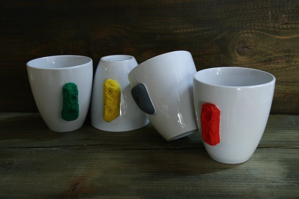 Klettertasse Fingerkraft Collection