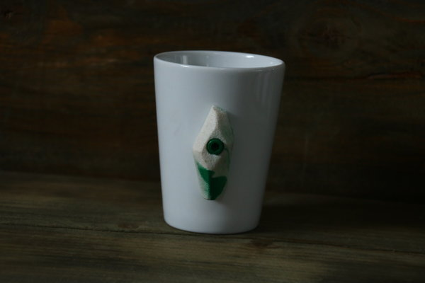 Sky Cup white green