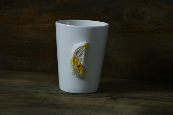 Sky Cup white yellow